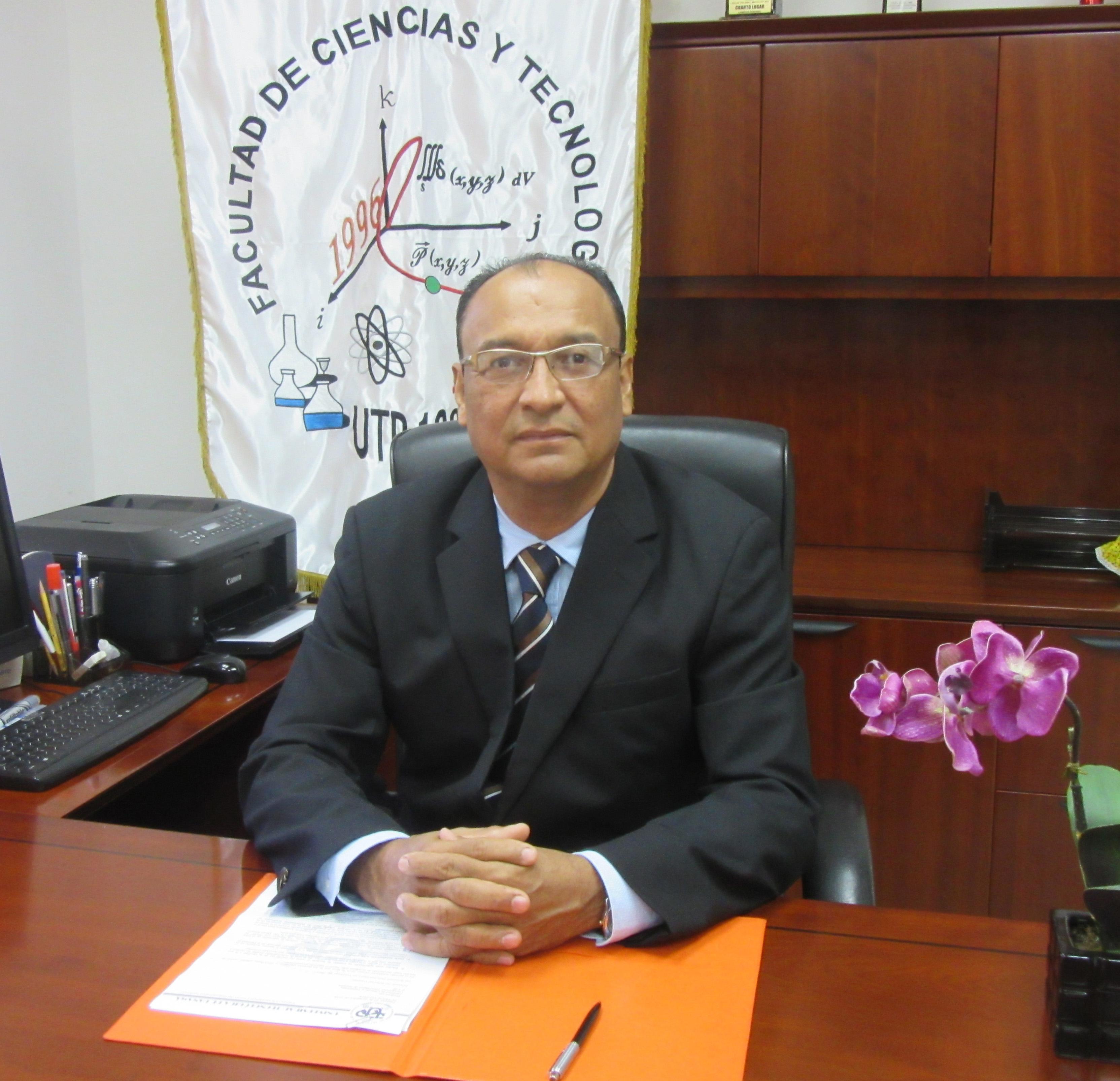 Coordinador de Investigación Dr. Ildemán Abrego Castillo