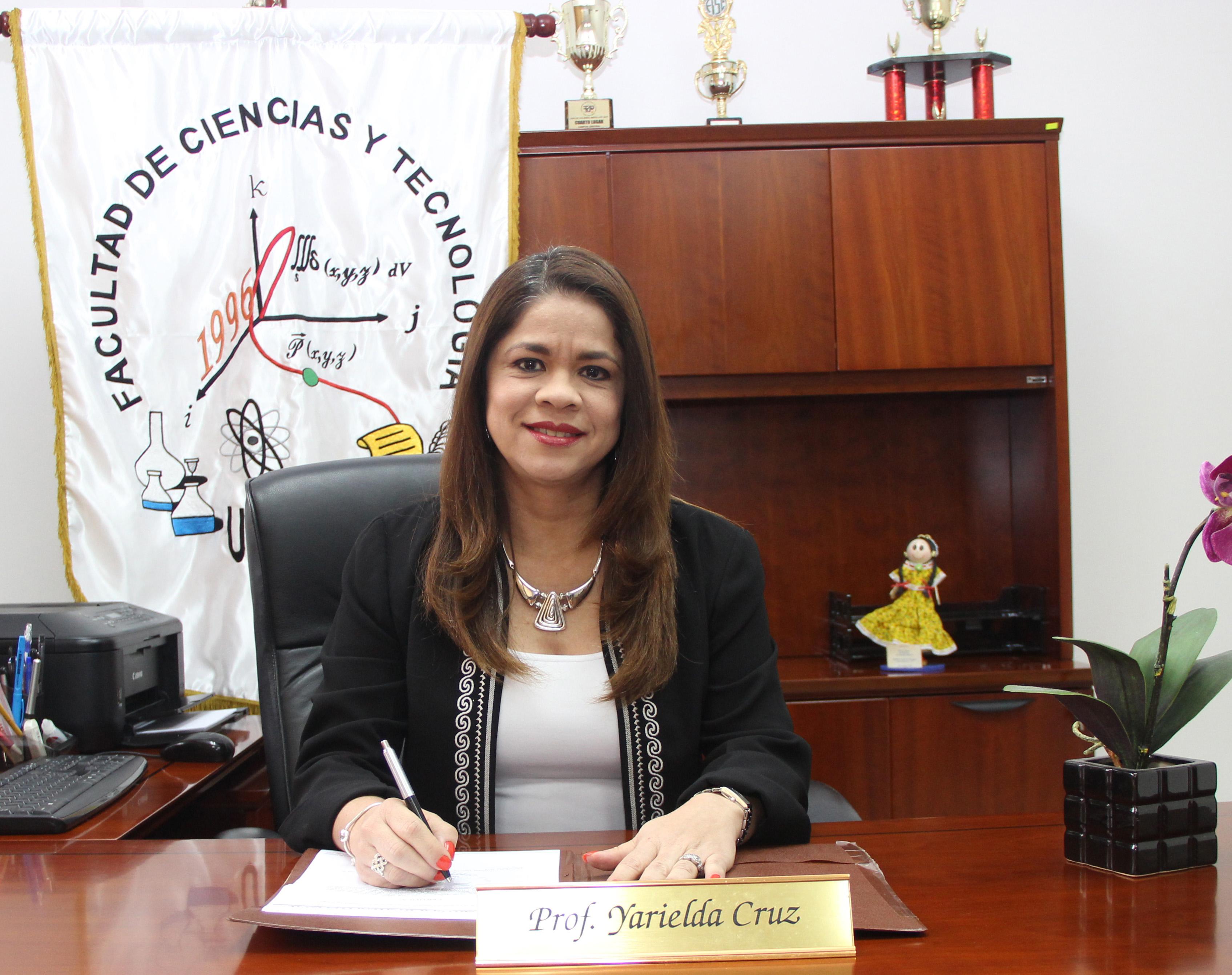 Coordinadora de Extensión Mgtr. Yarielda Cruz