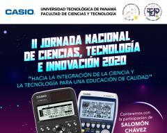FCT,UTP, II Jornada Nacional de Ciencias, Tecnología e Innovación 2020